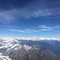 Verortung via Georeferenzierung der Kamera: Aufgenommen in der Nähe von Bezirk Bellinzona, Schweiz in 3200 Meter