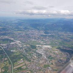 Flugwegposition um 12:42:02: Aufgenommen in der Nähe von Berchtesgadener Land, Deutschland in 2672 Meter