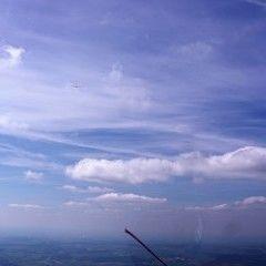 Flugwegposition um 12:55:41: Aufgenommen in der Nähe von Donau-Ries, Deutschland in 1504 Meter
