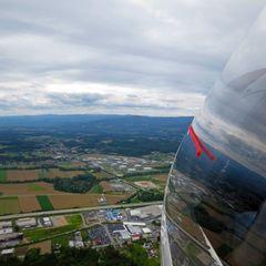 Flugwegposition um 11:13:03: Aufgenommen in der Nähe von Gemeinde Lannach, Österreich in 1020 Meter