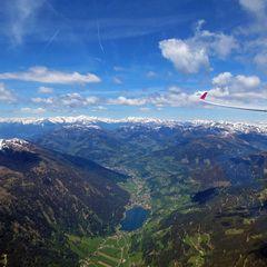 Flugwegposition um 11:02:57: Aufgenommen in der Nähe von Gemeinde Paternion, Österreich in 2344 Meter