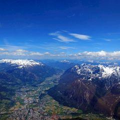 Flugwegposition um 12:34:49: Aufgenommen in der Nähe von Gemeinde Dölsach, Österreich in 3348 Meter