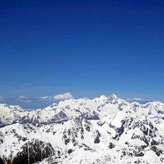 Flugwegposition um 12:35:04: Aufgenommen in der Nähe von Gemeinde Winklern, Österreich in 3371 Meter