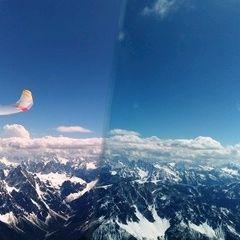 Flugwegposition um 13:14:26: Aufgenommen in der Nähe von 39038 Innichen, Südtirol, Italien in 3785 Meter