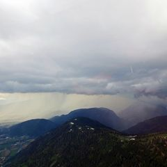 Flugwegposition um 12:32:24: Aufgenommen in der Nähe von Gemeinde Wernberg, Österreich in 2075 Meter