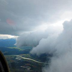 Flugwegposition um 12:36:27: Aufgenommen in der Nähe von Gemeinde Rosegg, Österreich in 2112 Meter