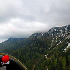 Flugwegposition um 13:12:30: Aufgenommen in der Nähe von Gemeinde Finkenstein am Faaker See, Österreich in 1642 Meter