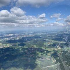 Verortung via Georeferenzierung der Kamera: Aufgenommen in der Nähe von Kelheim, Deutschland in 1900 Meter