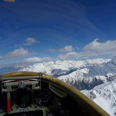 Verortung via Georeferenzierung der Kamera: Aufgenommen in der Nähe von Bezirk Inn, Schweiz in 3500 Meter