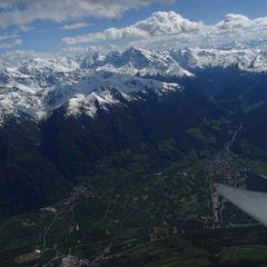 Verortung via Georeferenzierung der Kamera: Aufgenommen in der Nähe von 39023 Laas, Südtirol, Italien in 3800 Meter