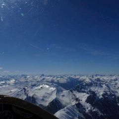 Flugwegposition um 15:04:25: Aufgenommen in der Nähe von 23030 Livigno, Sondrio, Italien in 3504 Meter