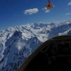 Flugwegposition um 15:10:06: Aufgenommen in der Nähe von Maloja, Schweiz in 3038 Meter