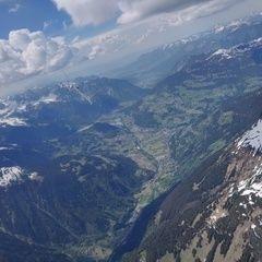 Flugwegposition um 13:35:14: Aufgenommen in der Nähe von Gemeinde St. Gallenkirch, Österreich in 3118 Meter