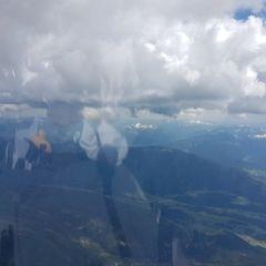 Flugwegposition um 13:08:57: Aufgenommen in der Nähe von Gemeinde Lessach, 5580, Österreich in 3542 Meter