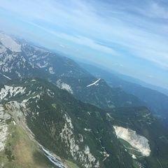 Flugwegposition um 13:39:29: Aufgenommen in der Nähe von Tragöß, 8612, Österreich in 2054 Meter