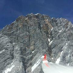 Flugwegposition um 11:50:17: Aufgenommen in der Nähe von Gemeinde Ramsau am Dachstein, 8972, Österreich in 2326 Meter