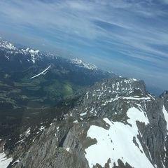 Flugwegposition um 11:19:22: Aufgenommen in der Nähe von St. Martin am Grimming, Österreich in 2227 Meter