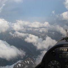 Flugwegposition um 18:23:11: Aufgenommen in der Nähe von Gemeinde Wörschach, 8942, Österreich in 2225 Meter