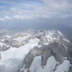 Flugwegposition um 15:33:00: Aufgenommen in der Nähe von Gemeinde Annaberg-Lungötz, Österreich in 3361 Meter
