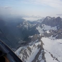 Flugwegposition um 05:57:38: Aufgenommen in der Nähe von Gemeinde Ramsau am Dachstein, 8972, Österreich in 3078 Meter
