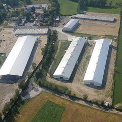 Flugwegposition um 14:28:33: Aufgenommen in der Nähe von Gmina Stupsk, Polen in 238 Meter