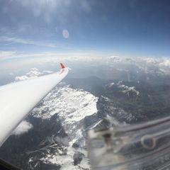 Verortung via Georeferenzierung der Kamera: Aufgenommen in der Nähe von Gemeinde Maria Alm am Steinernen Meer, 5761, Österreich in 5000 Meter