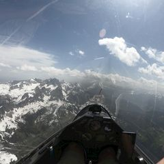 Flugwegposition um 09:58:14: Aufgenommen in der Nähe von Gemeinde Filzmoos, 5532, Österreich in 2907 Meter