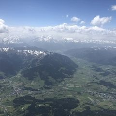 Verortung via Georeferenzierung der Kamera: Aufgenommen in der Nähe von Gemeinde Maria Alm am Steinernen Meer, 5761, Österreich in 3400 Meter
