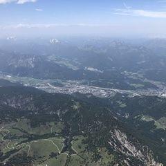 Verortung via Georeferenzierung der Kamera: Aufgenommen in der Nähe von Gemeinde Kufstein, Kufstein, Österreich in 3100 Meter