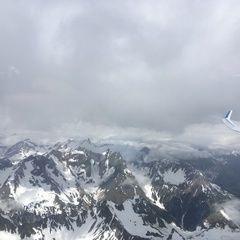 Verortung via Georeferenzierung der Kamera: Aufgenommen in der Nähe von Gemeinde Zams, Österreich in 3500 Meter