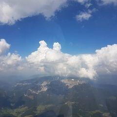 Flugwegposition um 12:47:25: Aufgenommen in der Nähe von Gemeinde Neuberg an der Mürz, 8692, Österreich in 2581 Meter