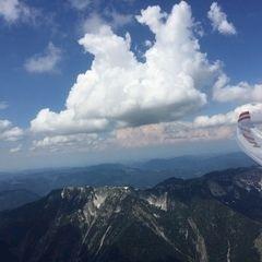 Flugwegposition um 12:48:21: Aufgenommen in der Nähe von Gemeinde Wildalpen, 8924, Österreich in 2269 Meter