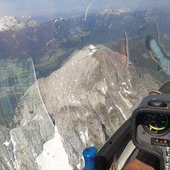 Flugwegposition um 13:20:14: Aufgenommen in der Nähe von St. Martin am Grimming, Österreich in 2502 Meter