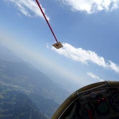 Flugwegposition um 09:39:57: Aufgenommen in der Nähe von Gemeinde Mühlbach am Hochkönig, 5505 Mühlbach am Hochkönig, Österreich in 2803 Meter