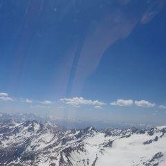 Flugwegposition um 12:17:50: Aufgenommen in der Nähe von Gemeinde Sölden, Österreich in 3544 Meter