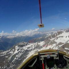 Flugwegposition um 14:47:48: Aufgenommen in der Nähe von Goms, Schweiz in 2996 Meter