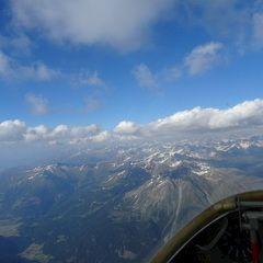 Flugwegposition um 16:40:59: Aufgenommen in der Nähe von 39027 Graun im Vinschgau, Südtirol, Italien in 3494 Meter
