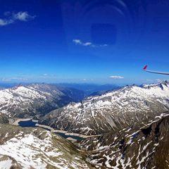 Flugwegposition um 14:42:21: Aufgenommen in der Nähe von Gemeinde Zederhaus, 5584, Österreich in 3051 Meter