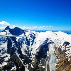 Flugwegposition um 14:22:51: Aufgenommen in der Nähe von Gemeinde Rauris, 5661, Österreich in 3243 Meter