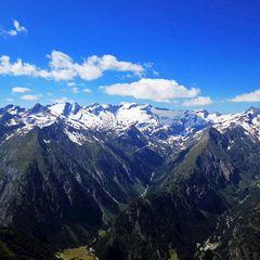 Flugwegposition um 13:39:29: Aufgenommen in der Nähe von Gemeinde Prägraten am Großvenediger, 9974, Österreich in 2851 Meter