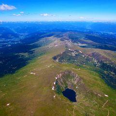 Flugwegposition um 11:18:37: Aufgenommen in der Nähe von St. Marein bei Neumarkt, Österreich in 2905 Meter