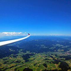 Flugwegposition um 11:20:57: Aufgenommen in der Nähe von Perchau am Sattel, 8820 Perchau am Sattel, Österreich in 2738 Meter