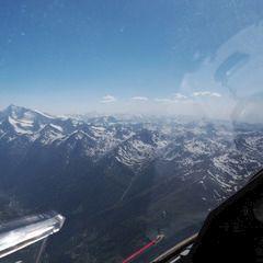 Flugwegposition um 14:05:29: Aufgenommen in der Nähe von Savoyen, Frankreich in 4650 Meter