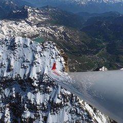 Flugwegposition um 14:07:30: Aufgenommen in der Nähe von 11010 Rhêmes-Notre-Dame, Aostatal, Italien in 4504 Meter