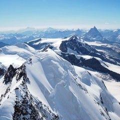 Flugwegposition um 14:15:52: Aufgenommen in der Nähe von 11010 Rhêmes-Saint-Georges, Aostatal, Italien in 4278 Meter