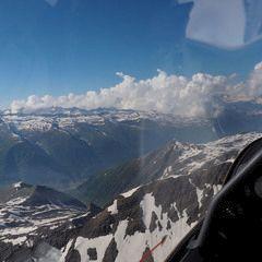 Flugwegposition um 14:51:39: Aufgenommen in der Nähe von 11010 Bionaz, Aostatal, Italien in 3718 Meter