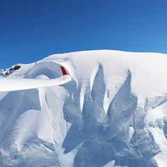 Flugwegposition um 14:14:01: Aufgenommen in der Nähe von 11010 Rhêmes-Saint-Georges, Aostatal, Italien in 4343 Meter