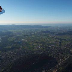 Flugwegposition um 16:37:24: Aufgenommen in der Nähe von Bezirk Surselva, Schweiz in 2449 Meter
