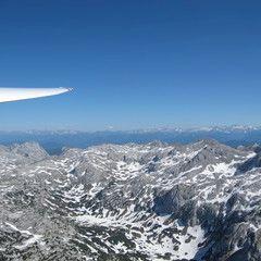 Flugwegposition um 14:52:22: Aufgenommen in der Nähe von Gemeinde Ramsau am Dachstein, 8972, Österreich in 2080 Meter