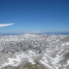 Flugwegposition um 14:53:23: Aufgenommen in der Nähe von Gemeinde Ramsau am Dachstein, 8972, Österreich in 2239 Meter